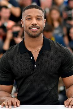 Michael B Jordan Black Man, Fine Black Men, Handsome Black Men, Black Boys, Fine Men, Cute Black Guys, Gorgeous Black Men, Beautiful Men, Michael B. Jordan