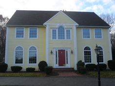 Image result for historic home exterior colors yellow black