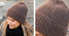 Winter Smiles Knitted Beanie [FREE Knitting Pattern] Beanie Knitting Patterns Free, Free Knitting, Hat Patterns, Double Pointed Knitting Needles, Double Knitting, Drops Design, Knit Beanie, Headbands, Knitted Hats