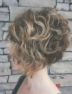 50 Chic Curly Bob Hairstyles - Site Name Concave Bob Hairstyles, Cute Short Curly Hairstyles, Latest Short Haircuts, Bob Haircut Curly, Haircuts For Curly Hair, Curly Hair Cuts, Curly Bob Hairstyles, Short Hair Cuts, Curly Hair Styles