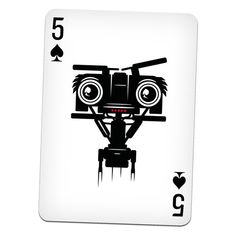 """""""Cult Movie Cards"""" – An Illustrated Movie-Themed Deck Of Playing Cards - Cool Playing Cards, Play Your Cards Right, Ace Of Hearts, Custom Decks, Cult Movies, Deck Of Cards, Creative Cards, Tarot Cards, Card Games"""