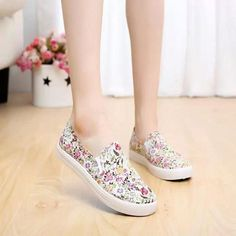 awesome Tendance Chaussures 2017 - $8.07 (Buy here: alitems.com/... ) Fashion Leisure Floral Shoes Women Embroidere...