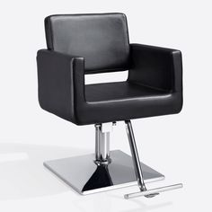 Salon chair for hairstyling!