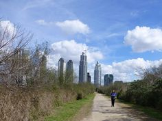View of Puerto Madero from Costanera Sur Ecological Preserve, Buenos Aires, by Annette Baesel | Flickr - Photo Sharing!