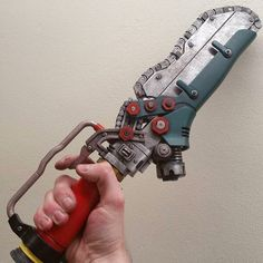 Fantastic fallout4 ripper by @lilykill1 great job! #3dprinting #fallout4 #cosplayprop #cosplay #fallout #weapons #thingiverse