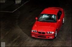 My e36 M3 from Above