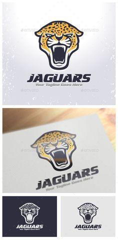 Jaguars Logo Design Template Vector #logotype Download it here: http://graphicriver.net/item/jaguars-logo-template/8918247?s_rank=1376?ref=nesto