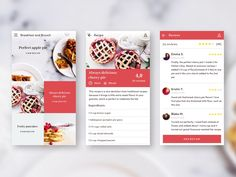 Hello, guys!  Here is a little recipe app. Let us know your thoughts.