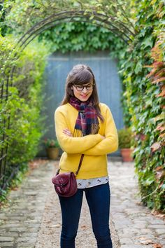 Mode and The City - Blog mode et lifestyle Yellow Monoprix sweater - Zara bird…