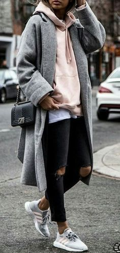 16 Trendy Fall Street Style Outfits for 2018 - Outfit - # for . - 16 Trendy Fall Street Style Outfits for 2018 – Outfit – - Street Style Outfits, Looks Street Style, Autumn Street Style, Mode Outfits, Looks Style, Winter Style, Street Outfit, Spring Style, Street Style London
