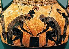 Alain Richert : Photo http://www.pinterest.com/masjoden/ancient-greek-pottery/