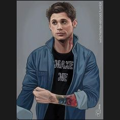 Supernatural Drawings, Dean And Cas, Destiel, Fictional Characters, Instagram, Fantasy Characters