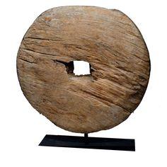 Antique Asian Wood Wheel    Thailand, 19th c. or earlier