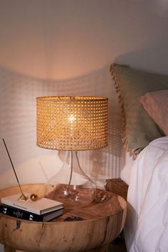 Shop Lexi Rattan Table Lamp at Urban Outfitters today. Küchen Design, Interior Design, Urban Outfitters, Table Diy, Rattan Lamp, Steampunk Furniture, Ikea, Table Lamps For Bedroom, Bohemian Bedroom Decor