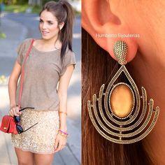 #humbertobijouterias #earring #brinco #bijoux #streetstyle