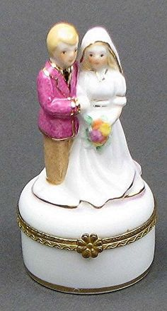 VoojoStore Wedding Couple on Mini Trinket Box for Men Women Couples Grandpa Father Mother Engagement Wedding Anniversary Christmas Birthday Him Her Sister Wife Husband Wedding Couples, Wedding Engagement, Our Wedding, Wedding Supplies, Wedding Favors, Ceremony Decorations, Christmas Decorations, Personalized Gift Cards, Birthday For Him