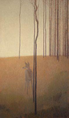 """<span class=""""artist""""><strong>David Grossmann</strong></span>, <span class=""""title""""><em>Gracefully Toward Evening</em></span>"""