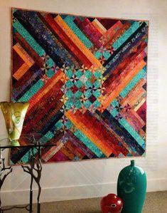 Chinook Quilt Pattern Pieced EB