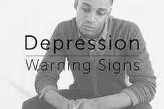 5 Warning Signs Of #Depression You Shouldn't Ignore
