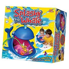 Splashy The Whale Game from Ideal Science For Kids, Games For Kids, Diy For Kids, Crafts For Kids, Baby Girl Toys, Toys For Girls, Kids Toys, Birthday Gifts For Kids, Birthday Presents