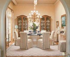 """TLC Home """"Dining Room Decorating Idea: Traditional and Formal"""""""
