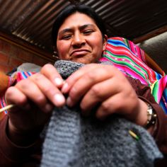 Your purchases empower artisans and help children in need in Bolivia. One beanie = Five meals I One bracelet = One dental care.