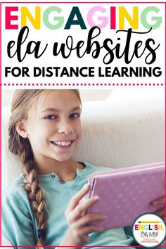 Are you looking for engaging English Language Arts websites and activities for your middle school and high school English students for distance learning? I have compiled a list of my favorite ELA…