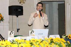 Giancarlo Fornei inizia il suo intervento a Jesi - convegno organizzato dalla Fidapa locale - 15 maggio 2014