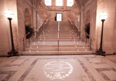 one of a kind  Staircase  | their one of a kind wedding groove provided uplighting as well as ...