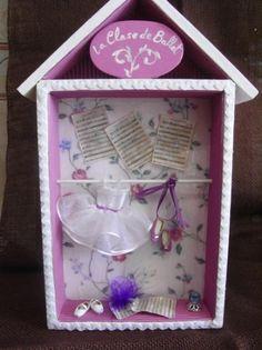 Cuadrito completamente artesanal, para habitación infantil