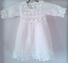 White crochet dress from Magnolia-crocheted  by DaWanda.com