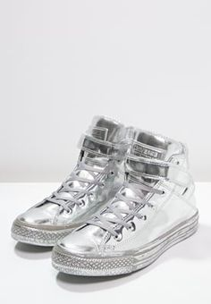 229c0f5a56e Converse CHUCK TAYLOR ALL STAR BREA - High-top trainers - silver white for