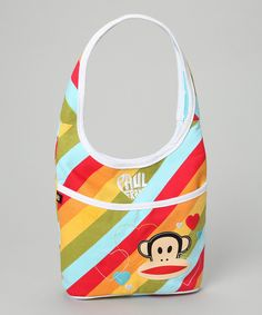 Paul Frank Blue Rainbow Bucket Tote