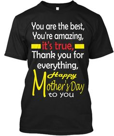 This pretty t shirt with urban minimal style could be the perfect gift for any occasion like Mother's Day, Christmas, birthday & etc. My graphics are good looking and reflecting to my lifestyle and personality. The idea in all the tees is to combine attractive professionally made graphic design with some motivational, funny, social or life sentences and quotes. Typography and contrast are very important. #Mother day Gift. #Gift for mother.