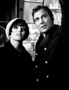 Star Trek ... Joan Collins & William Shatner