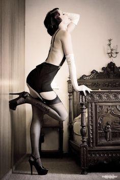 Fantastic vintage get-up #sexyisnotevil #womens #lingerie