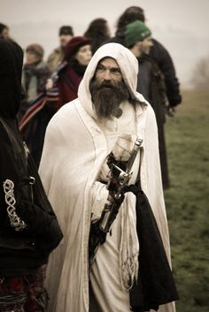 Druids winter robe
