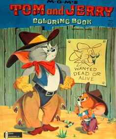 Tom & Jerry cool wild west image