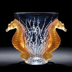 René Lalque // glass art