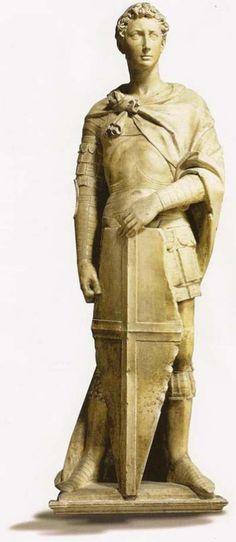escultura realizada en mármol por un joven Donatello entre los años 1416 y 1417. Fue una escultura encargada por el gremio de los fabricantes de armas y concebida para ocupar una de las hornacinas de Orsanmichele en la ciudad de Florencia, pero que en la actualidad se conserva y expone en el museo del Bargello de esa misma ciudad italiana.