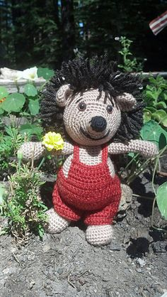 Amigurumi hedgehog - crochet pattern by Lovely Baby Gift