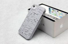 Apple iPhone 4 / 4S Designer Case Cover - 3D Modern Building + free 2 Protectors | eBay