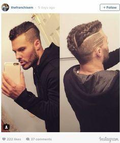 15 New Men Long Braid Hair 2017 - Trend Frisuren Box Braids Men, Mens Braids, Box Braids Styling, Braids For Long Hair, Braids Cornrows, Braid Hair, Modern Haircuts, Haircuts For Men, Boy Hairstyles