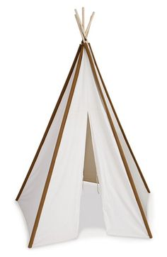 Pacific Play Tents Cotton Canvas Teepee  sc 1 st  Pinterest & Printed Canvas Play Tent | Playroom Accessories | Restoration ...