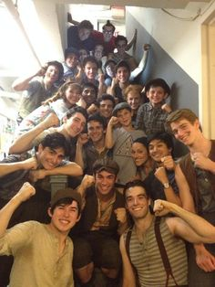 The last SIP of the Newsies cast. I'm so sad this show is closing at the Nederlander - but that just makes me want to see it on tour even more!