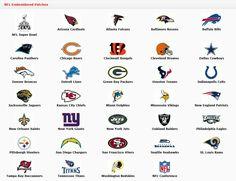 nfl emblem   NFL Emblems