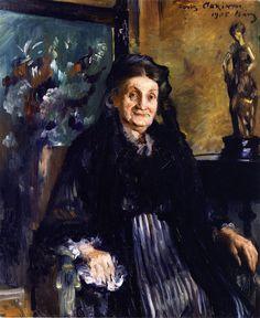 Marie Moll von Lovis Corinth Foto - Familienseite der Familie Moll aus Brieg - MyHeritage