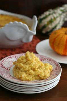 Diabetic Recipes : Butternut Squash & Cauliflower Casserole (low carb, gluten free) Serves 6 grams net carbs per serving. Low Carb Side Dishes, Healthy Side Dishes, Vegetable Side Dishes, Side Dish Recipes, Vegetable Recipes, Gluten Free Recipes, Low Carb Recipes, Vegetarian Recipes, Cooking Recipes