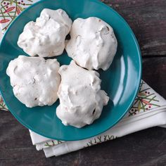 Forgotten Cookies...a meringue cookie with chocolate chips and pecans