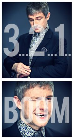 Martin Freeman...My short man crush. Because, yes, my addiction to sherlock made my fall in love with Martin and his wit :)
